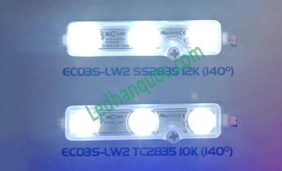 LED Module Hàn Quốc 3 bóng NC trắng -12000K