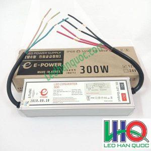Nguồn đèn LED hàn Quốc e-power 12v-300w