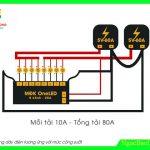 Cách đấu mạch LED vẫy OneLED công suất lớn