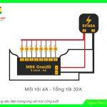 Hướng dẫn đấu nối Mạch  điều khiển LED vẫy OneLED 6A