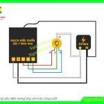 Cách đấu nối mạch LED 7 màu RGB